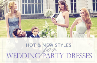 Wedding Party Dresses Hot & New Styles