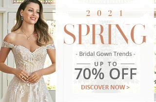 2020's Top 5 Bridal Gown Trends